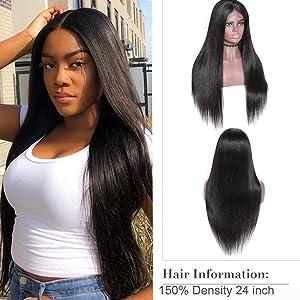 headband human hair wigs