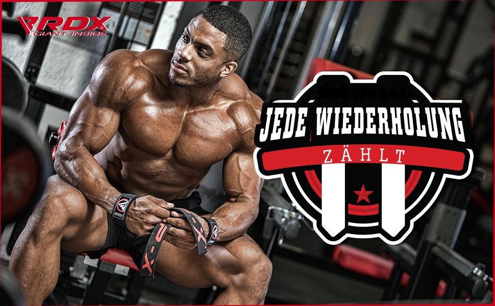 Neu Zughilfen Padded Bodybuilding Handgelenkbandage Krafttraining Gewichtheben~//