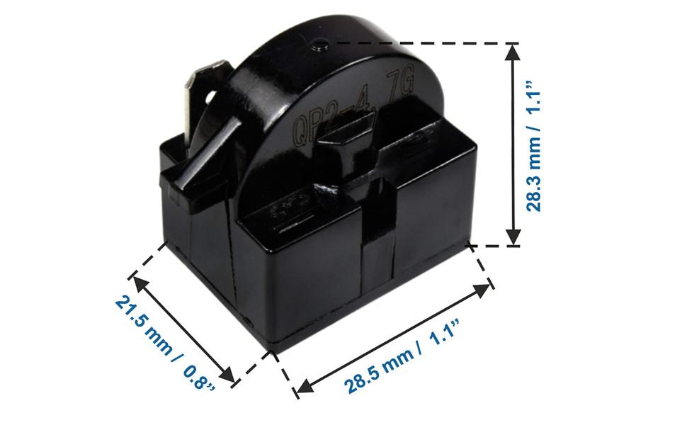QP2-4.7 4.7 Ohm 1-Pin PTC Starter
