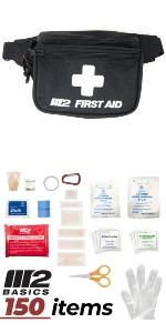 150 Piece Belt Bag First Aid Kit