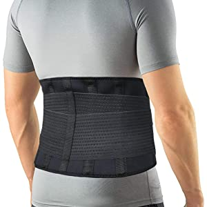 men back brace waist trimmer belt