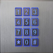 Smart keypad working directly with your phone remotely