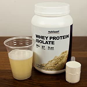 Nutricost Unflavored Whey Protein Isolate