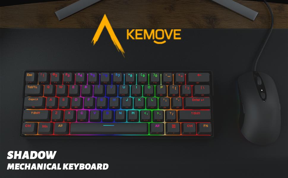 kemove shadow mechanical keyboard