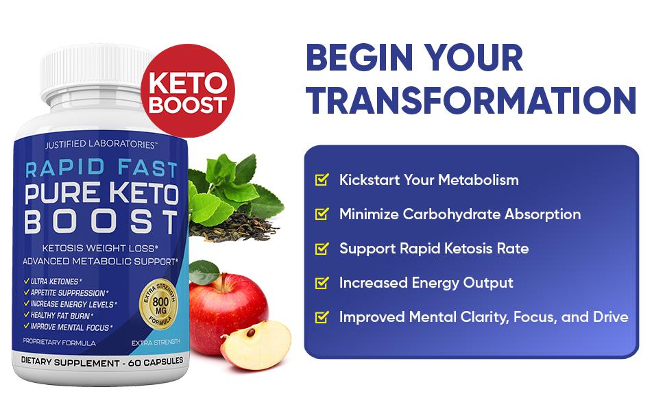 Rapid Fast Pure Keto Boost Keto Pills