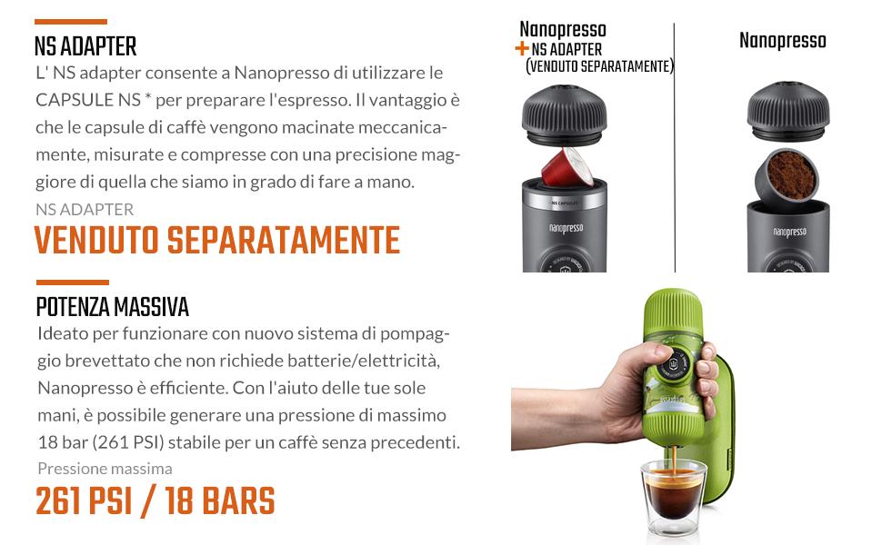 caffe macchina portatile