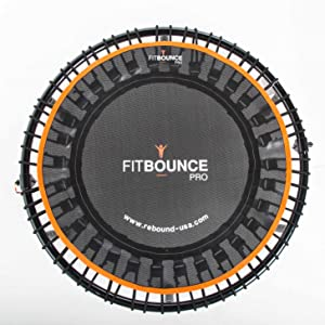 fit bounce pro rebounder mini trampoline exercise