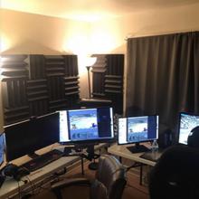 16PK 3x3x24 Soundproofing Foam Acoustic Studio Corner Block Corner Wall