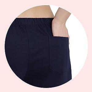 Back patch pocket