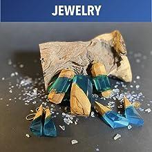 Epoxy Jewelry Art