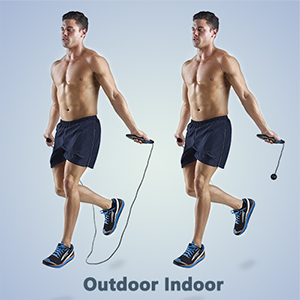 cordless jump rope weighted