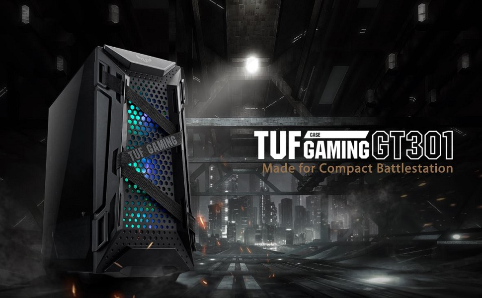 ASUS TUF GT301 Gaming PC Banner