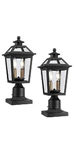 Outdoor Post Light | Exterior Pillar Light | Pier Light | Pole Light | Deck Lamp