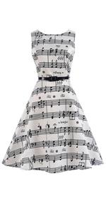 Girl Music Note Dress