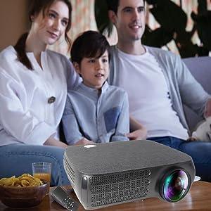 disfrute para toda la familia cine en casa proyector seelumen 4k FH810 incluye ac3 dolby digital