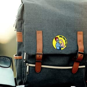 pin on backpack