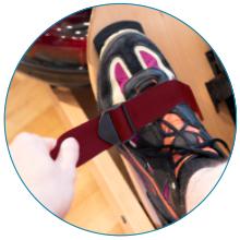ADJUSTABLE FOOT STRAP