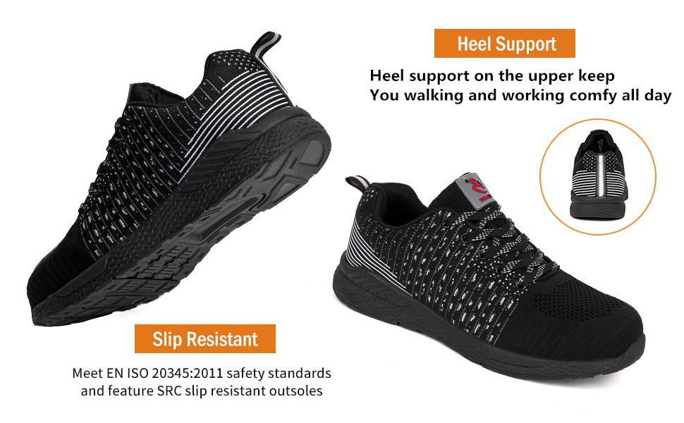 slip resistant steel toe shoes