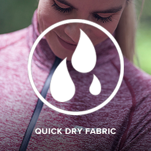 quick dry fabric moisture wicking comfortable