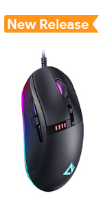 AUKEY Scarab RGB Gaming Mouse