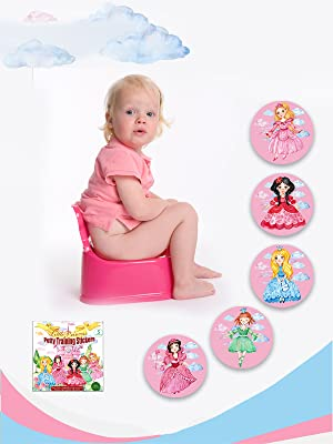 magic baby potty, hit the target toilet stickers
