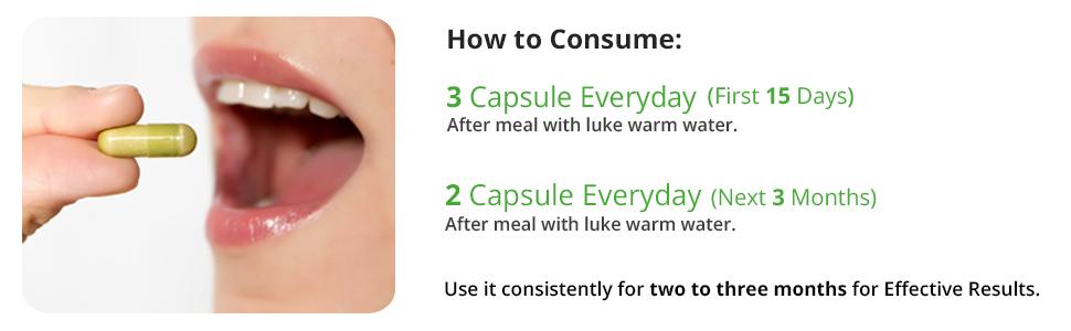 vitawin supplement consume method