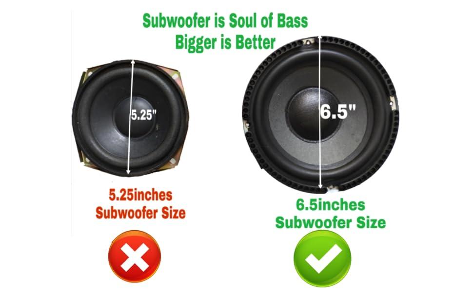 6.5 inch subwoofer
