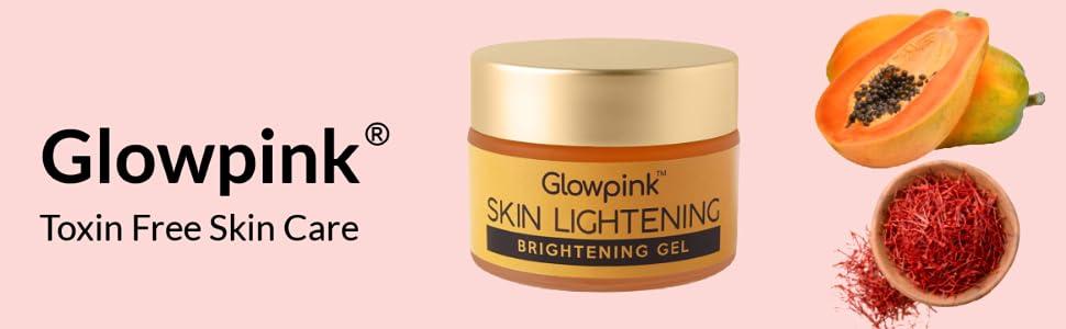 Skin Brightening Gel Banner