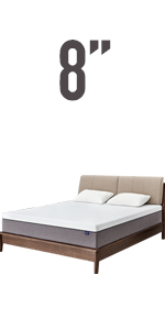 8'' queen mattress in a box