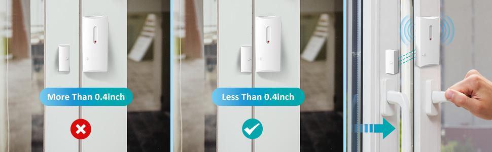 wireless window/door alarm