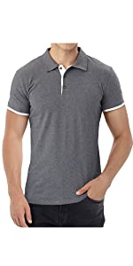 mens polo shirts short sleeve