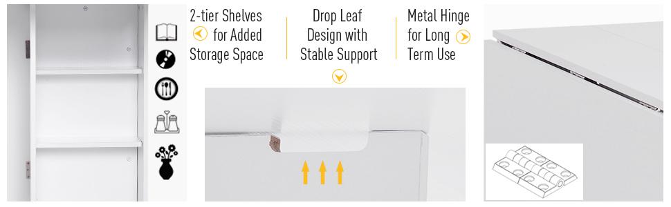 2-tier Shelves