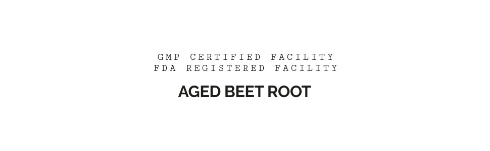 think remedy, aged beet root