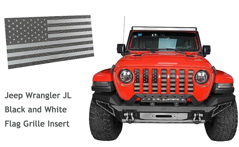Jeep Wrangler JL Flag Grille