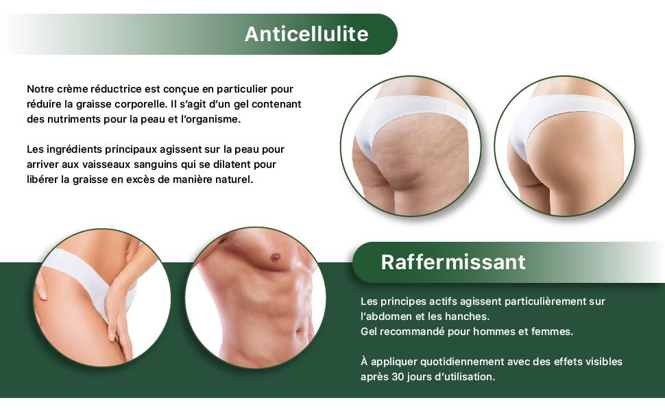 Anticellulite raffermissant gel anticellulite