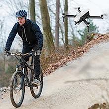 Flashandfocus.com 598acde4-7a71-4a79-bba7-62781a04dc50.__CR0,0,300,300_PT0_SX220_V1___ SIMREX X20 GPS Drone with 4K HD Camera 2-Axis Self stabilizing Gimbal 5G WiFi FPV Video RC Quadcopter Auto Return Home…
