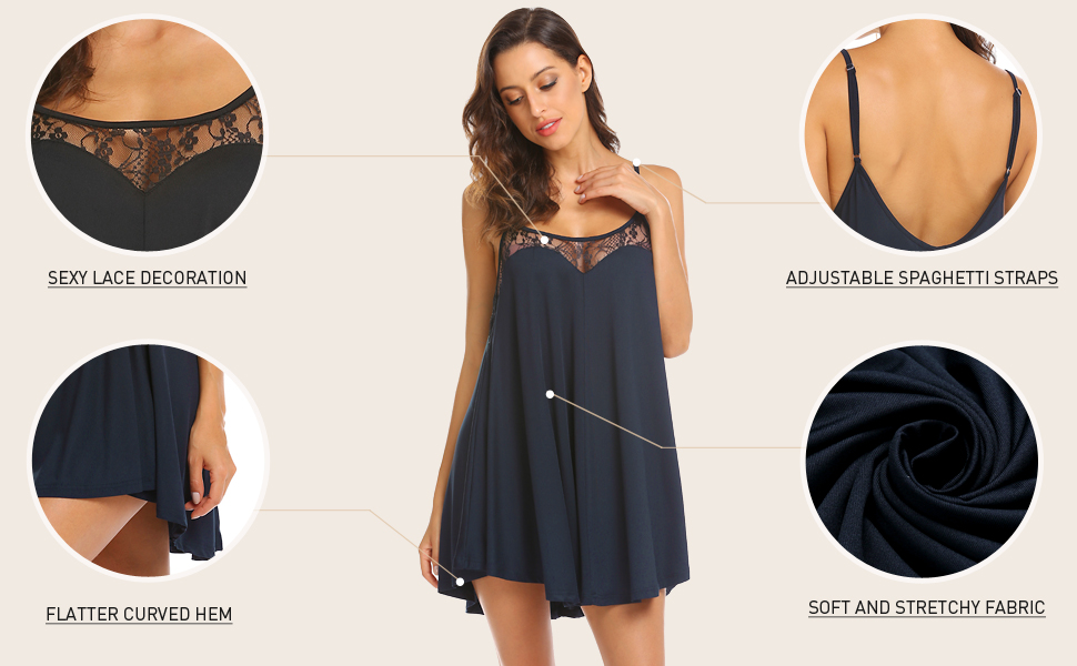 ekouaer nightgowns for women
