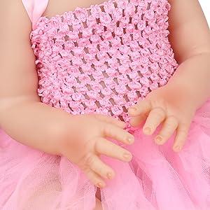 lifelike baby doll
