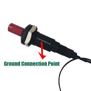 piezo ignter ground connection