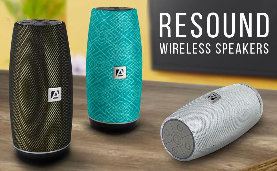 Resound Wireless Speakers