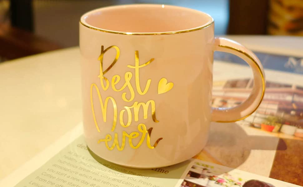 Mom Mug Christmas Gifts Mother Daughter Son Best Coffee Birthday presents mommy mama law step women
