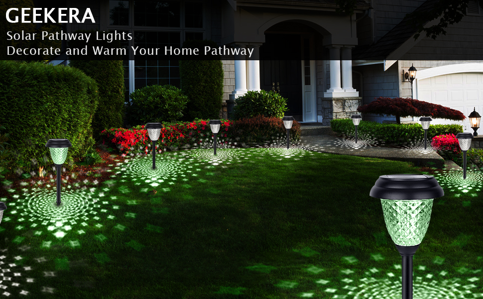 solar pathway light color changing