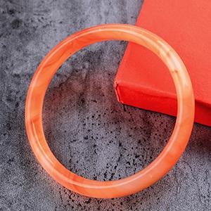 Red bracelet bangle