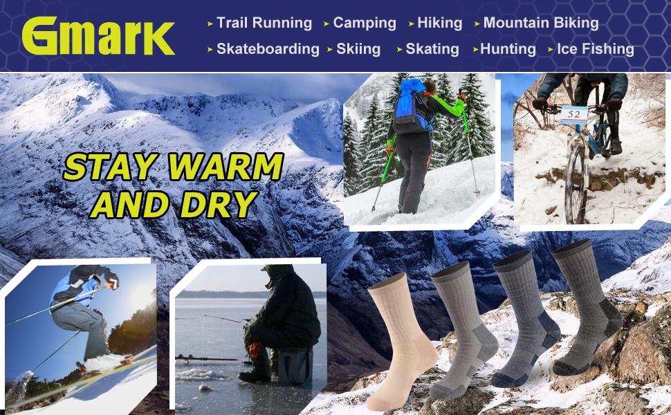 winter warm thick thermal wool socks