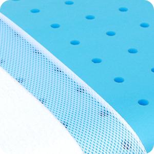 cool gel memory foam pillows