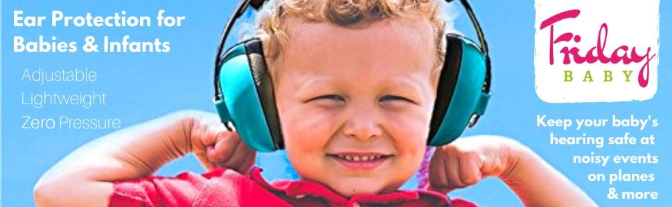 baby ear muffs noise protection infant