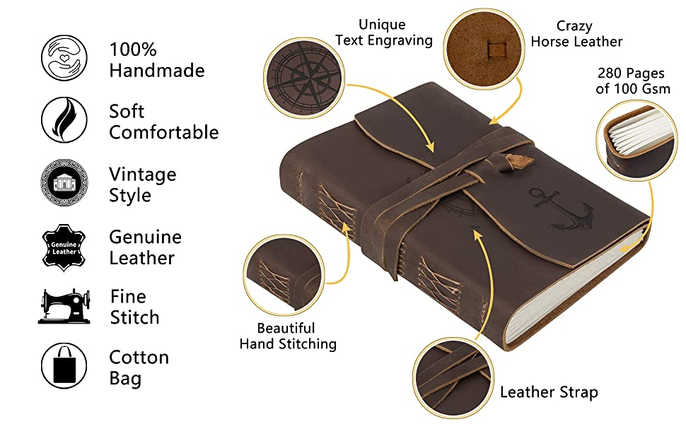 Perfect Personzlized Journal Gift - Amazing details
