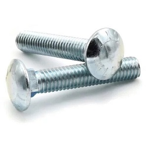 Carriage Head Bolts 1//2-13 x 7 Zinc Plated 307A 15