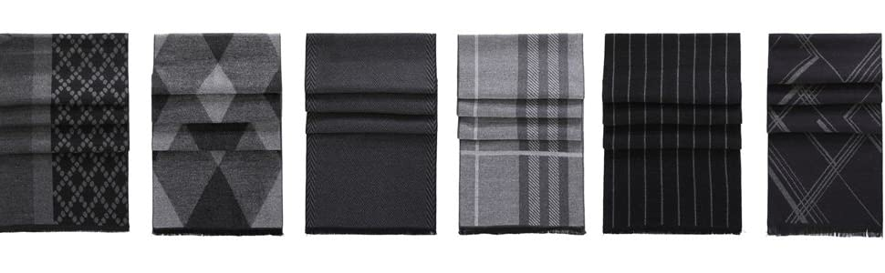 mens winter cashmere scarf