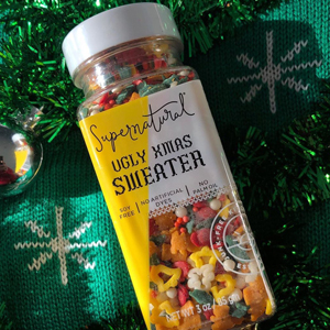Ugly Xmas Sweater Supernatural Natural Confetti Sprinkles